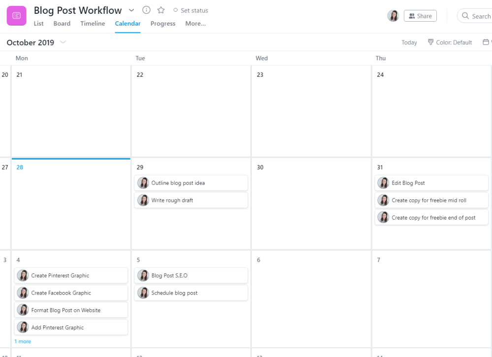 Using Asana for Pinterest Manager Workflows